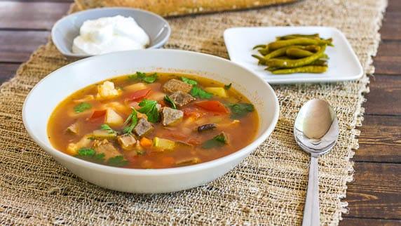 Beef Soup (Ciorba de vacuta)