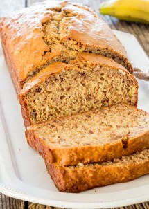 My Favorite Easy Banana Nut Bread