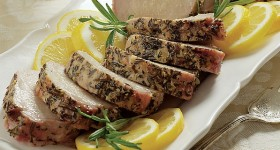 Lemon Garlic Pork Tenderloin