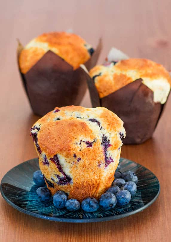 Jumbo Blueberry Buttermilk Muffins