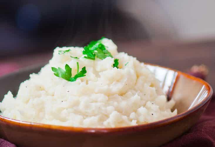 Easy Skinny Mashed Potatoes