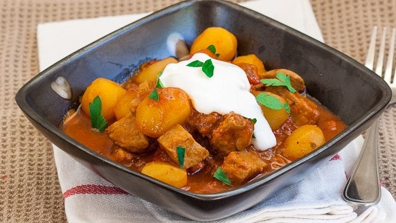 potatoes and pork stew-1