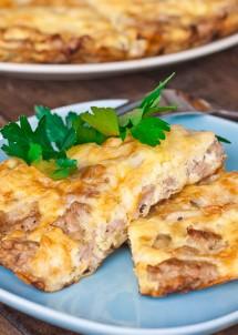 sausage and mushroom frittata-7