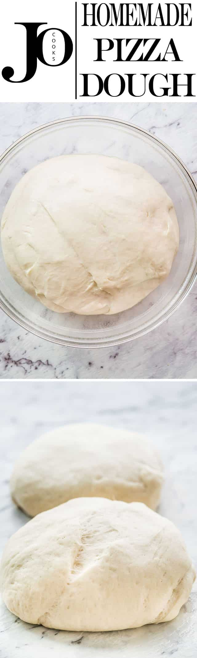 Making pizza dough at home couldn't get any easier with my simple pizza dough recipe. You'll never want to buy or order pizza again.