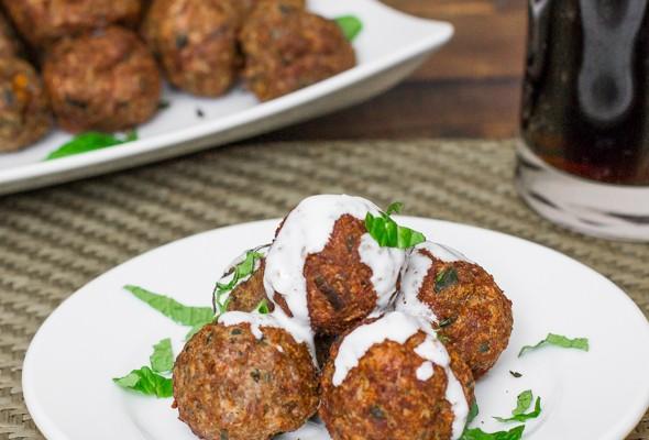 baked lamb meatballs-1-2