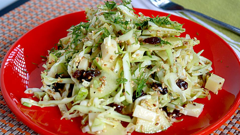 Cabbage and Sesame Seed Salad