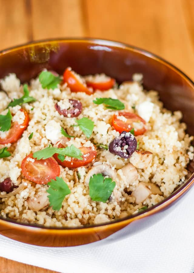 Mediterranean Couscous Salad – a yummy salad with delicious ...