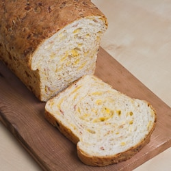 Mortadella and Cheddar Cheese Bread