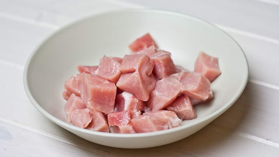 Pork loin chunks