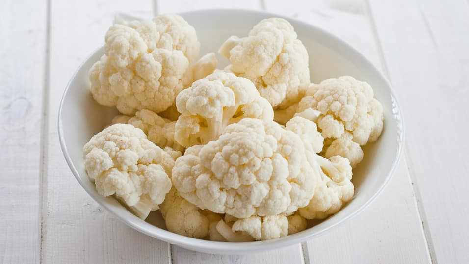 Bowl of cauliflower