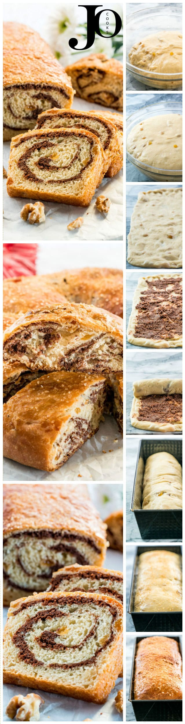 Sweet Walnut Bread known as