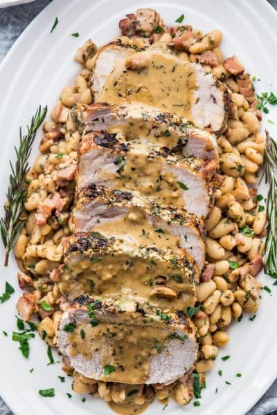 Rosemary Garlic Pork Roast
