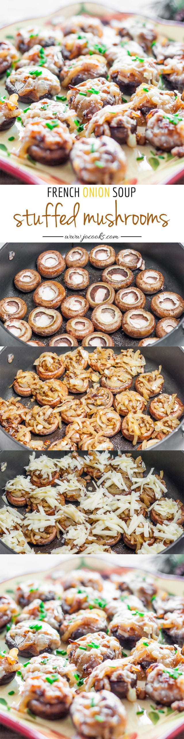 French Onion Soup Stuffed Mushrooms Recipes — Dishmaps