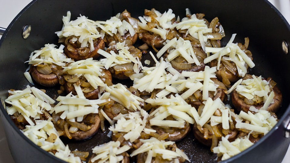 French Onion Soup Stuffed Mushrooms - Jo Cooks