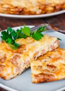 mushroom-and-sausage-frittata