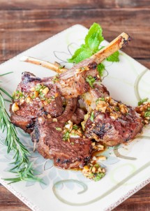 rosemary-lamb-chops-with-garlic-mint-sauce