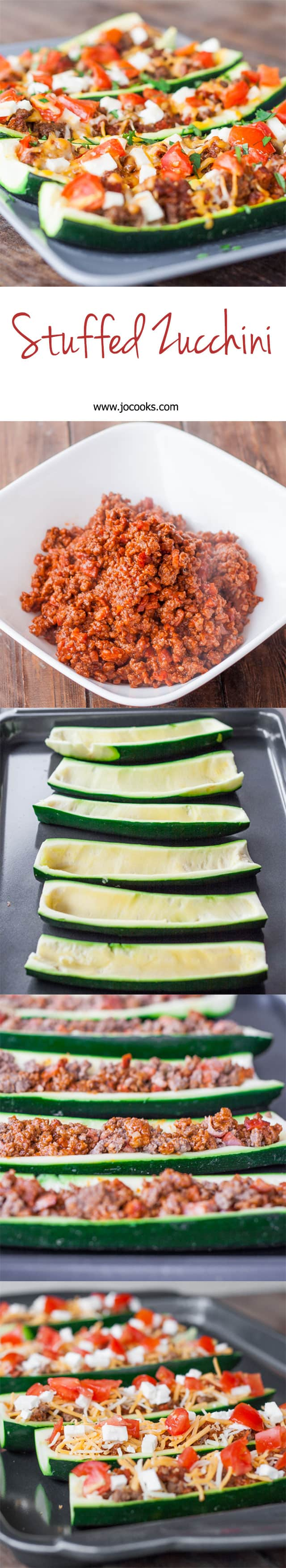 stuffed-zucchini-collage