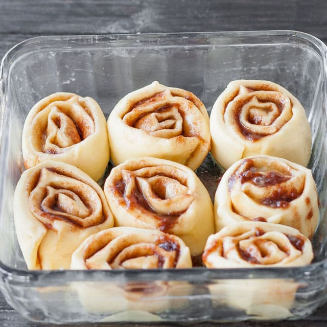 These CINNAMON ROLLS are soft, fluffy and gooey. They are super simple to make and are filled with the perfect cinnamon mixture!