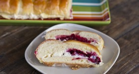 cranberry and cream cheese bread-1-11