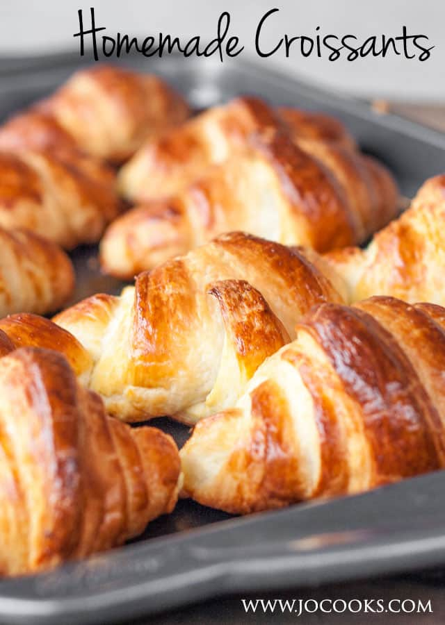 Homemade Croissants - I've overcome my fears and done the unthinkable. Join me on my journey to making the perfect buttery and flaky croissants.