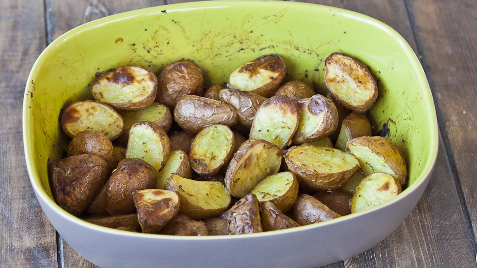 Roasted Potatoes with Spices