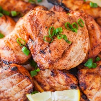 Baked Tandoori Chicken