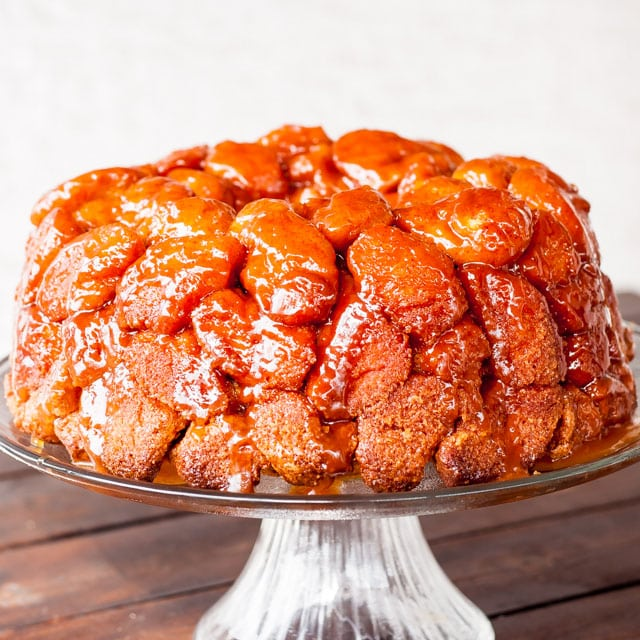 Monkey Brains – I guarantee you it will make you smarter. OK, maybe not, but at least it will make you happier. Also known as monkey bread.