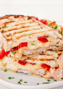 Marinated Pork Sandwich with Rosemary Aioli