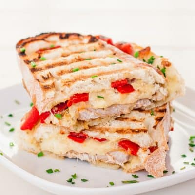 Marinated Pork Sandwich with Rosemary Aioli