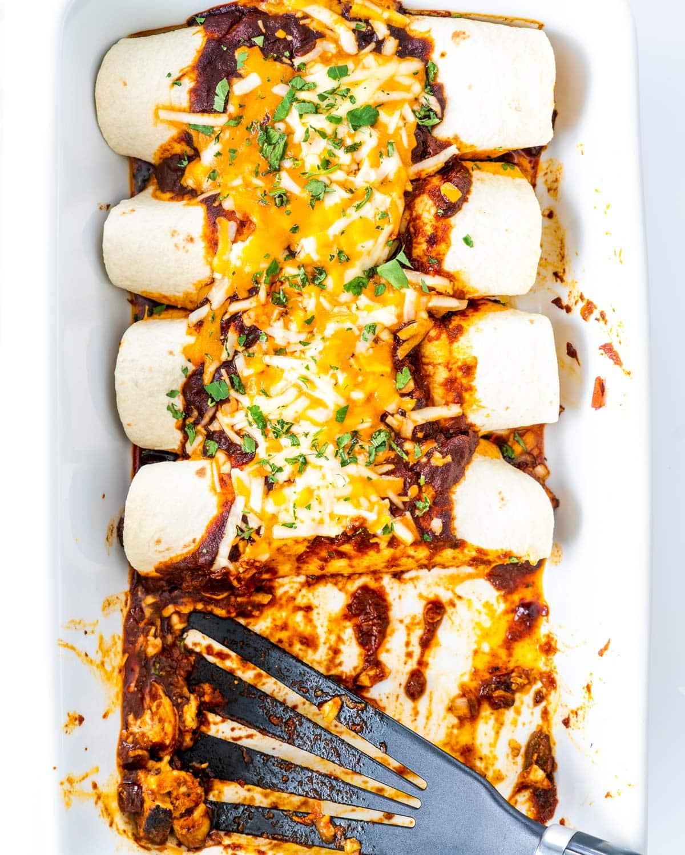 Easy Chicken Enchiladas Jo Cooks