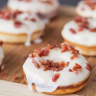 "Maple Bacon Donuts a.k.a. ""The Elvis"""