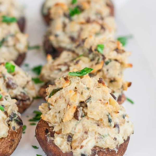 blue cheese stuffed mushrooms