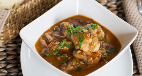 mushroom and chicken in beer sauce-1-4