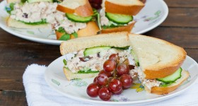 chicken salad with grapes and pecans-1-3