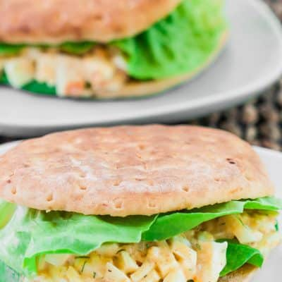 Easy and Healthy Egg Salad Sandwich