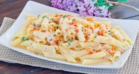 penne with smoked salmon-1