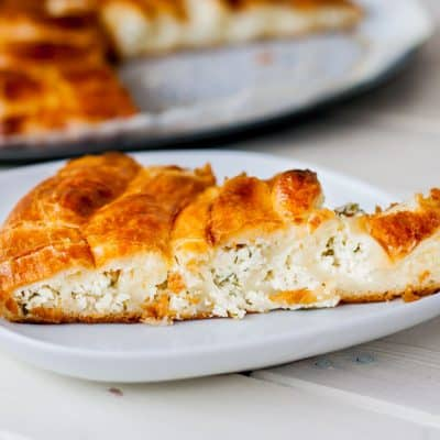 Cheese Spiral Pie