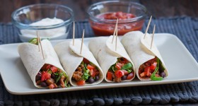pork and bean burritos-1