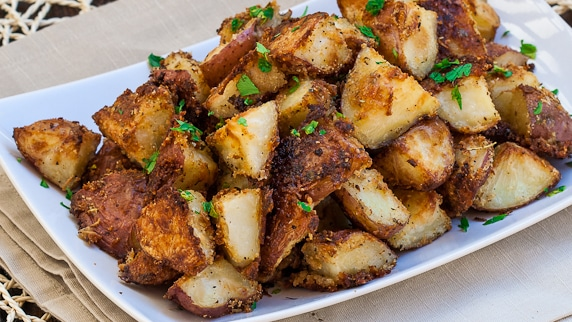 Italian Parmesan Roasted Potatoes - Jo Cooks
