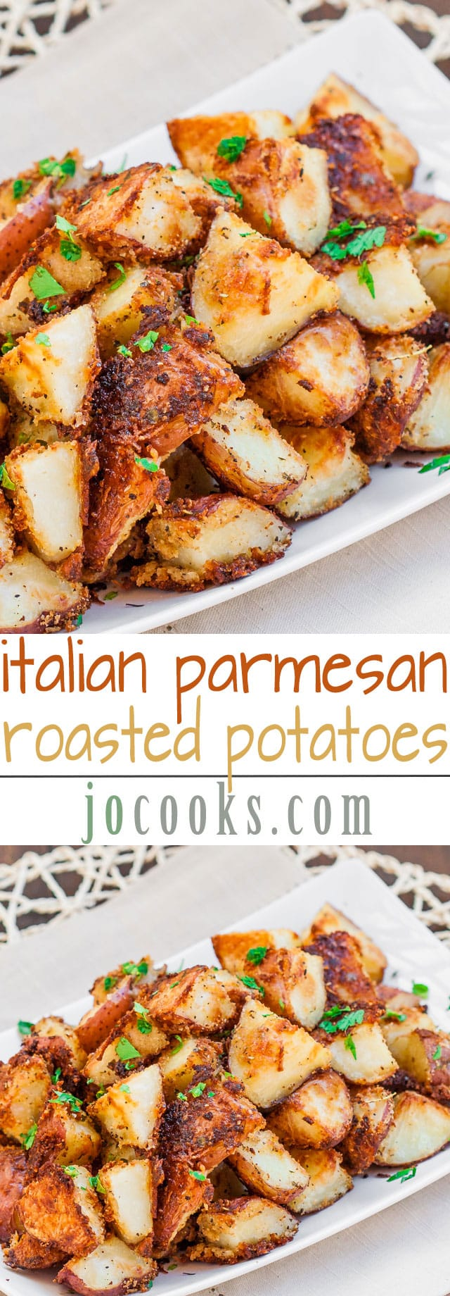 italian-parmesan-roasted-potatoes-collage
