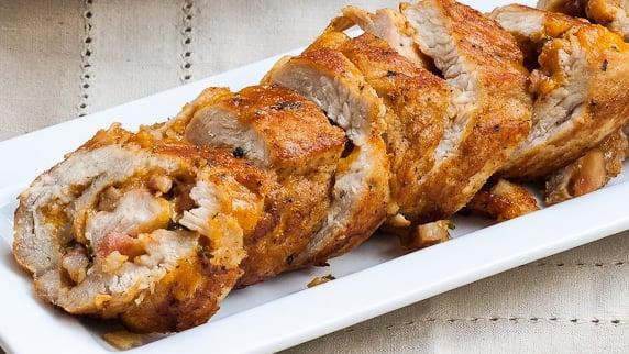 Turkey breast recipe with bacon