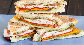 turkey pesto panini-1-2