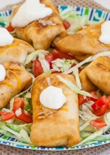 chicken chimichangas-1