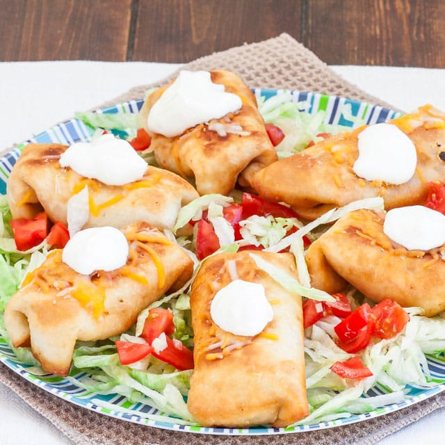 chicken-chimichangas