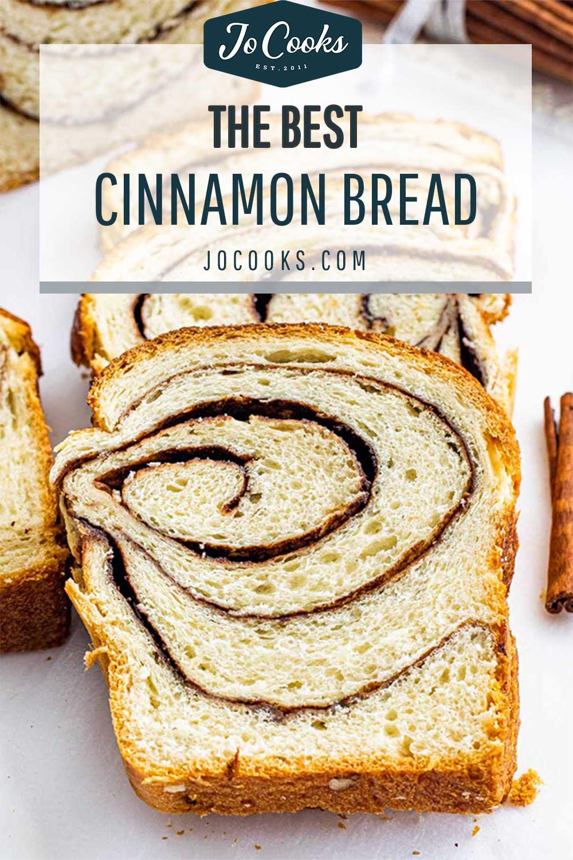 pin for cinnamon bread.