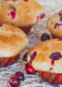 cranberry banana muffins-1-2