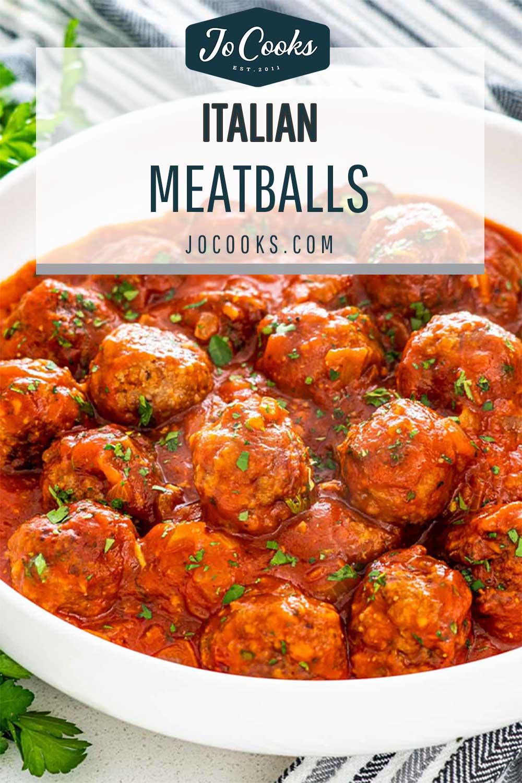 pin for italian meatballs.