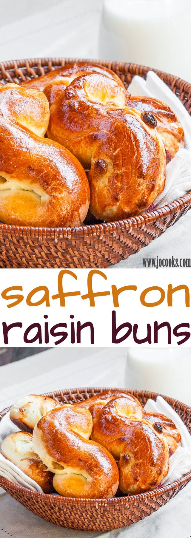 saffron-raisin-buns-collage