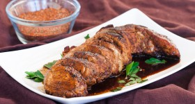 cajun honey pork tenderloin-1-2
