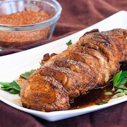 Cajun Honey Pork Tenderloin